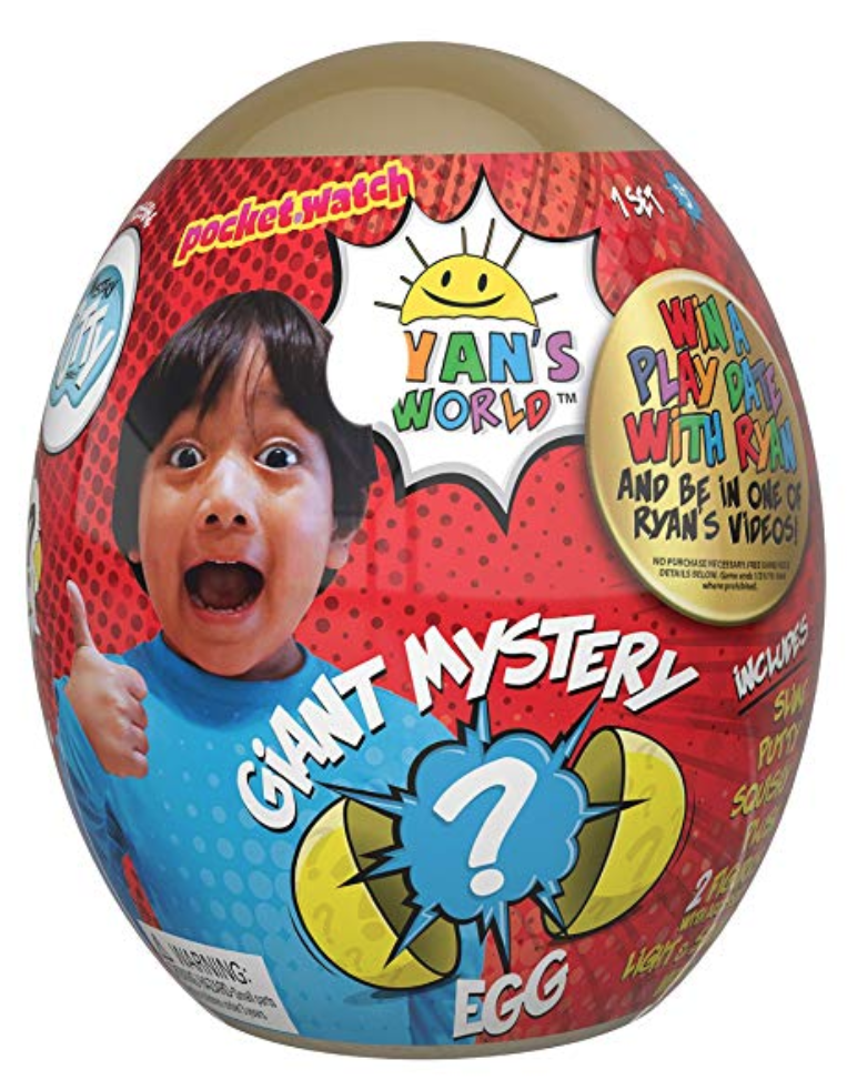 Ryan's World Giant Gold Mystery Egg in Stock Online & In Store!