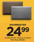 Kohls Doorbuster Deal 2018 LIVE NOW ~  KCARE Cushioned Kitchen Mat $24.99 ONLY!!!