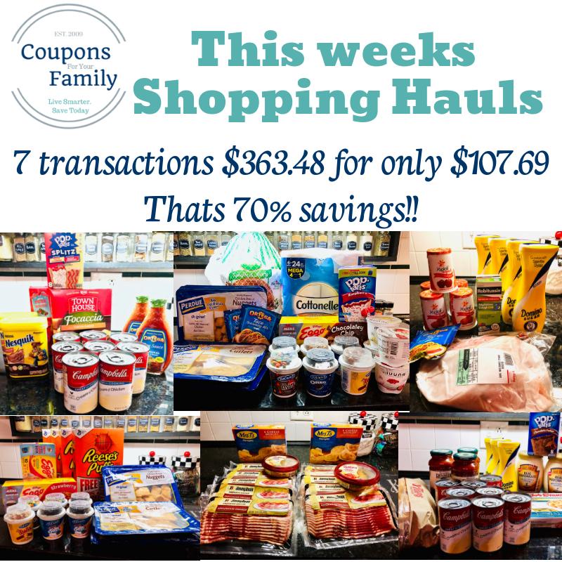 TOps Markets Shopping Hauls 10/4