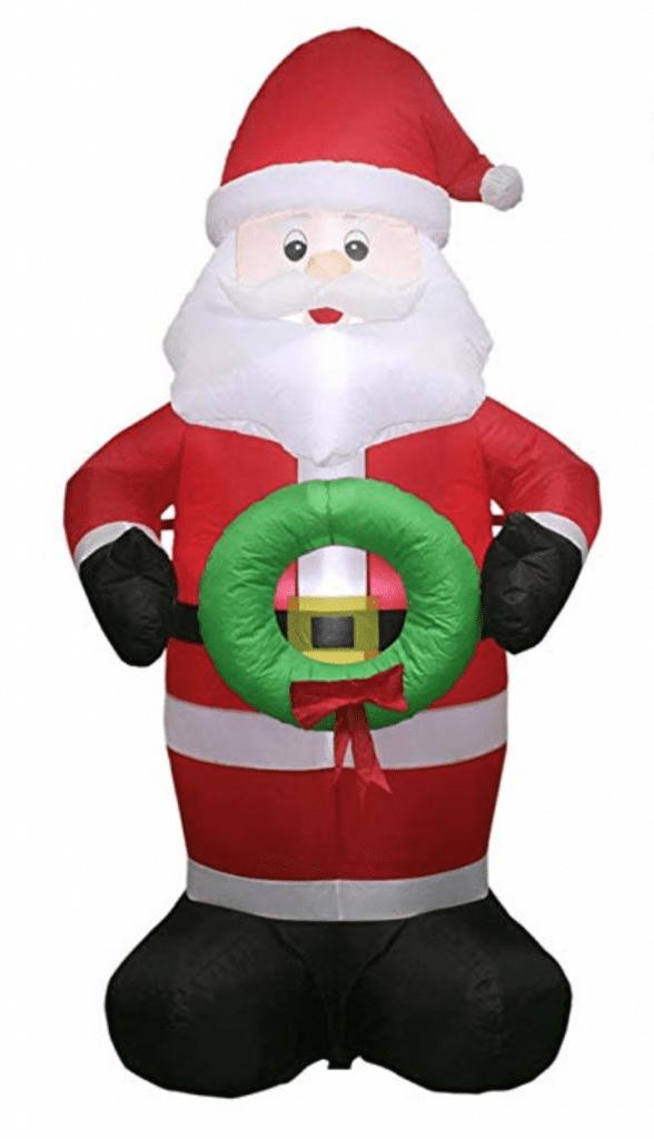 inflatable santa 5 ft