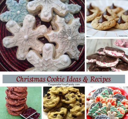 Last minute Christmas Cookie Ideas & Recipes