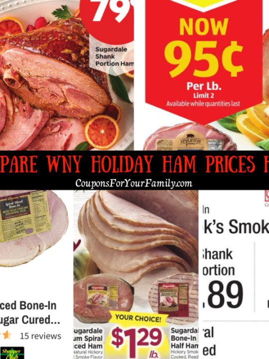 Compare WNY ham prices