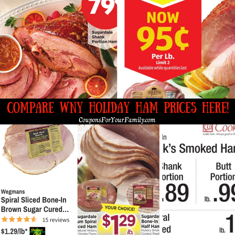 Compare WNY ham prices