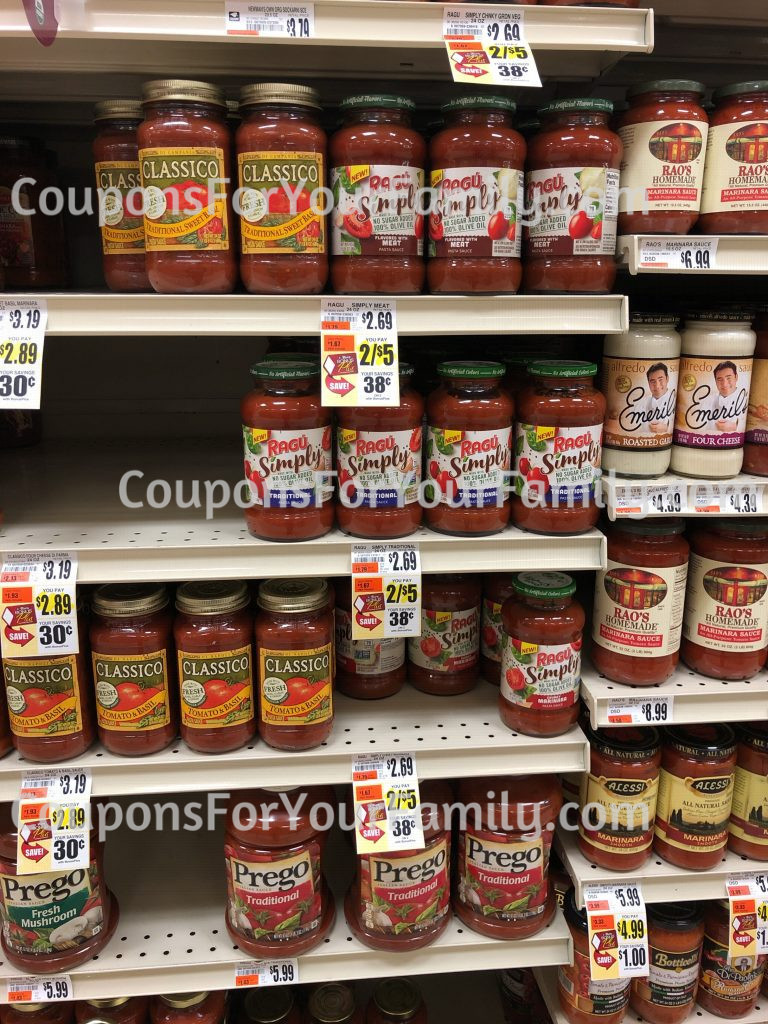 Tops Ragu Coupon Deal