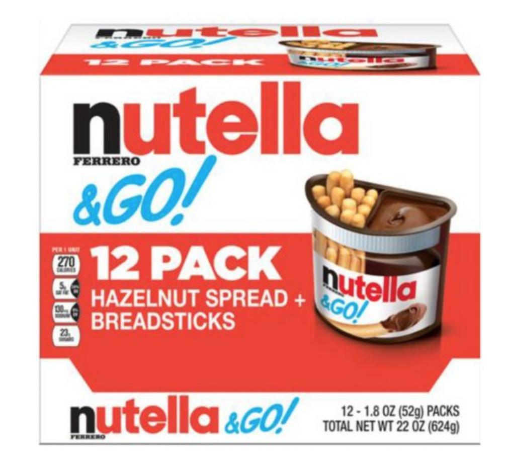 Nutella & Go Hazelnut Spread and Breadsticks