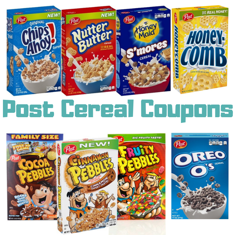 Grab cereal for Net Cost $.67 box with 5 new Post Cereal coupons at Tops Markets starting 12/2!