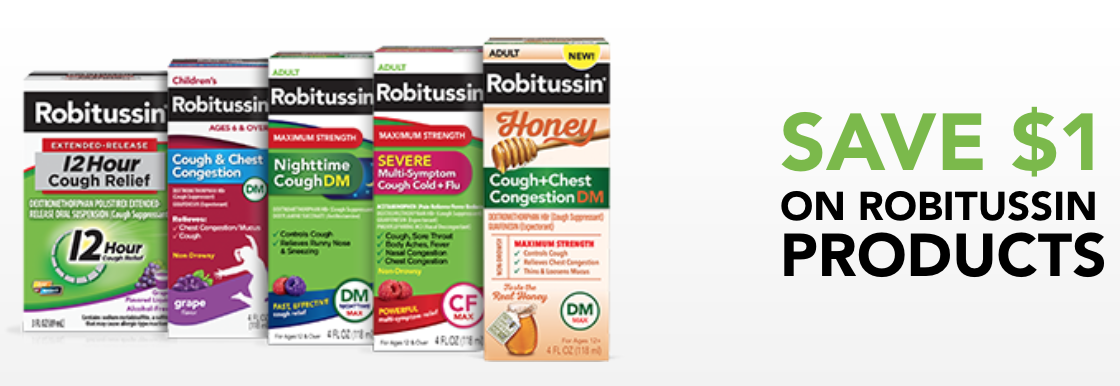 Robitussin Couopons