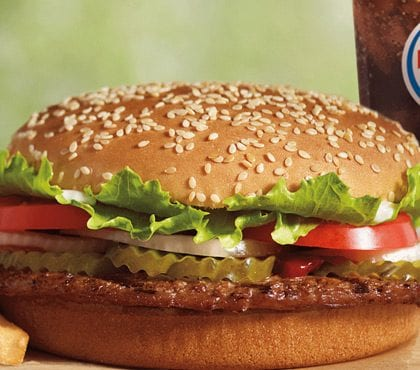Check out this Burger King Whopper Deal for only a Penny!!!