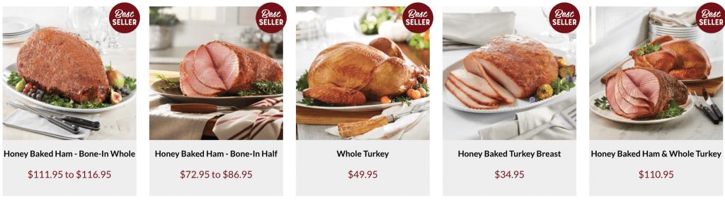 honey baked ham prices