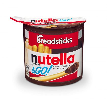 Online Grocery Deal: Nutella & Go Hazelnut Spread with Breadsticks (12 ct) as low as $.47 each!