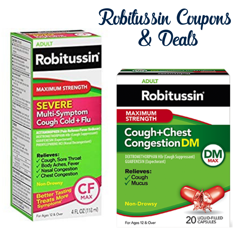 *HOT* New $2/1 Robitussin printable coupons wont last long & deals as low as $1.50!!