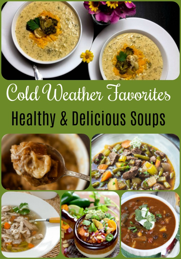 Check out these 14 Easy & Healthy Soup Recipes you will want to try!!