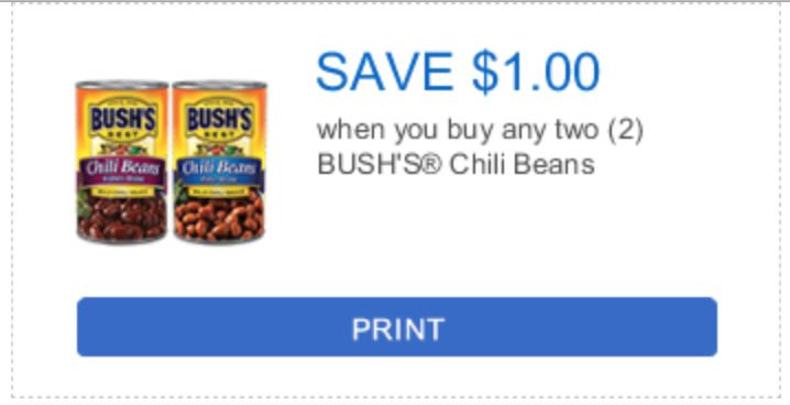 Bushs Beans Coupons