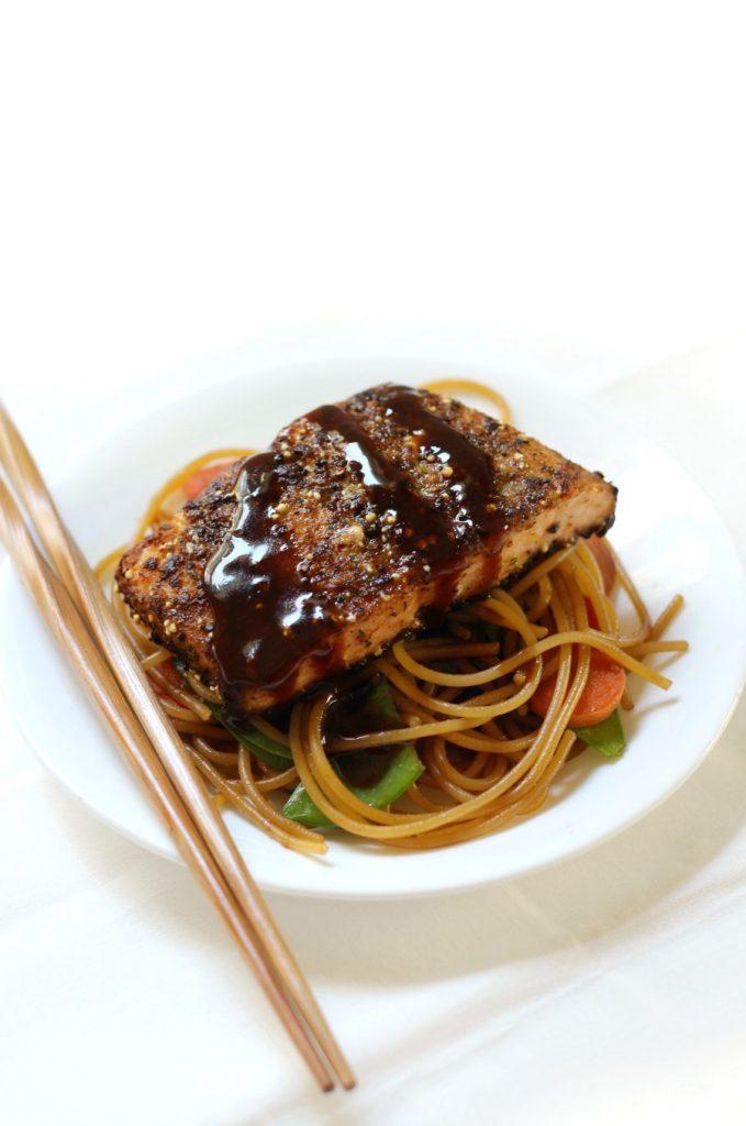 healthy baked salmon recipe