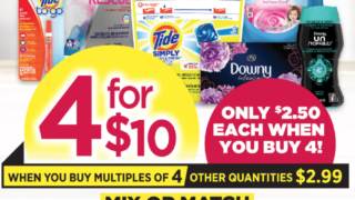 TOps Markets Laundry Sale