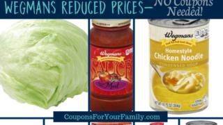 Wegmans Reduced Prices