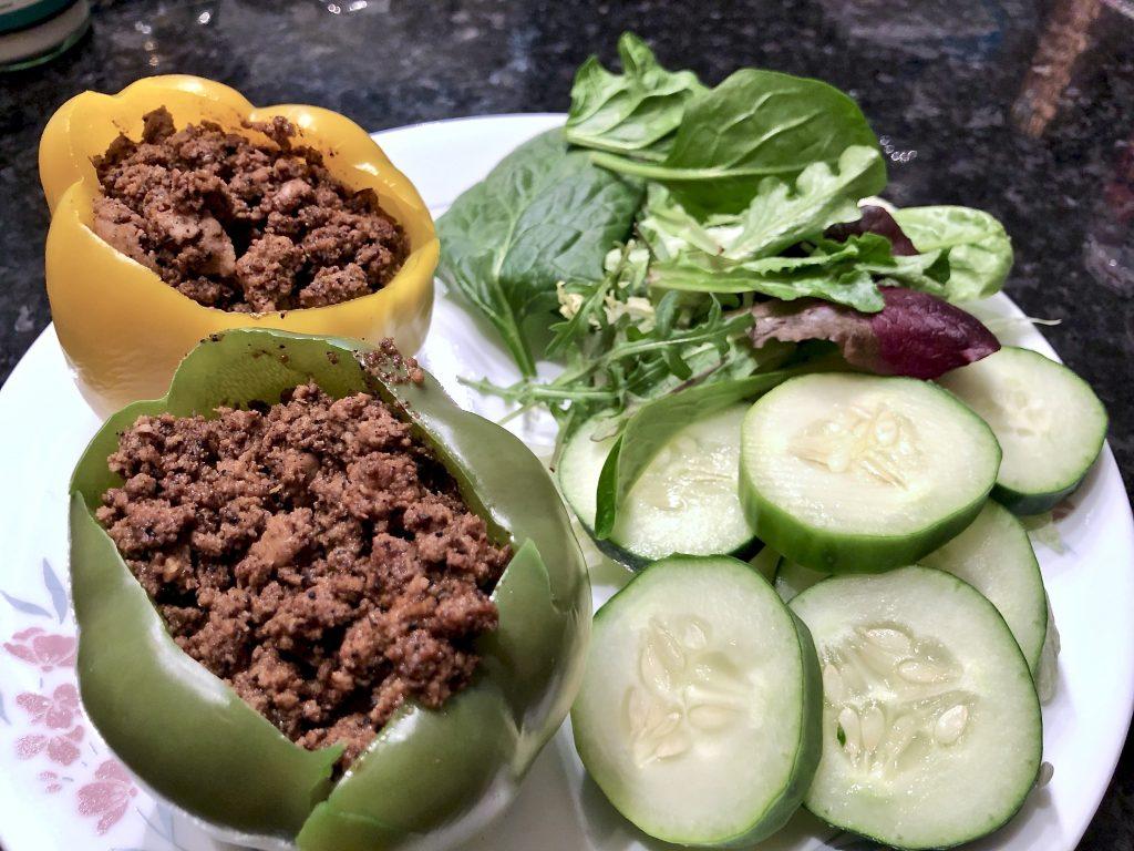 keto stuffed pepper recipe