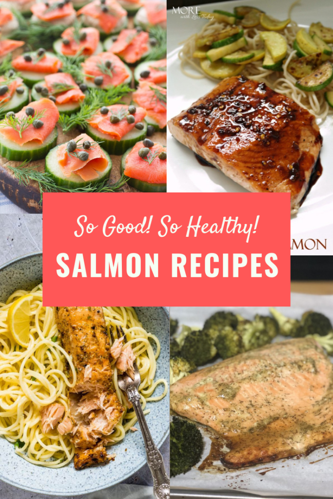 healthy, easy salmon recipes baked, smoked, pan- fried or grilled.