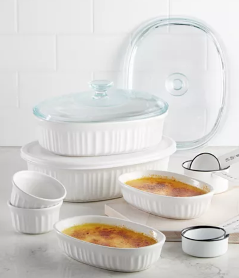 Corningware 10 piece casserole sale