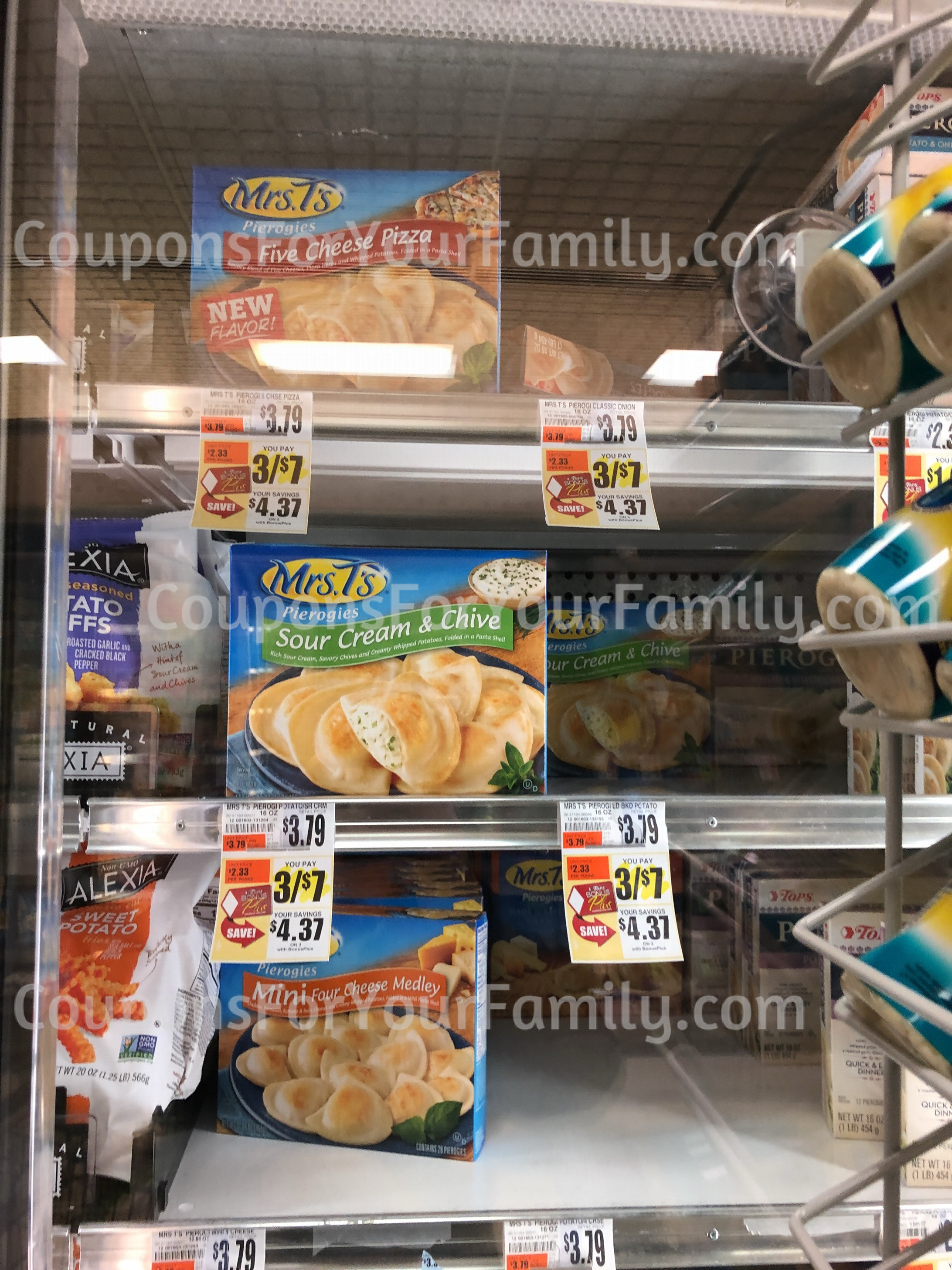 Print this NEW Mrs T's Pierogi's Coupon and get for $1.66 at Tops Markets!!