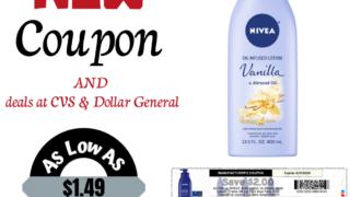 Nivea coupon deal