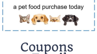 Amazon $10 off Pet Food Credit!!