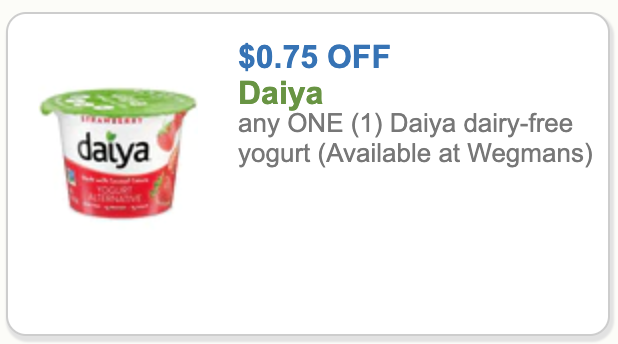 Daiya Coupon