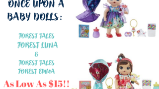 Baby Alive Once Upon a Baby_ Forest Tales Forest Luna & forest Tales forest emma