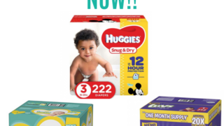 50% of Amazon diaper deals