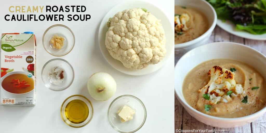 Easy, Healthy, Gluten Free Creamy Roasted Cauliflower Recipe Twitter