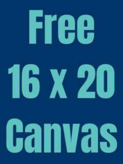 Free Canvas online prints