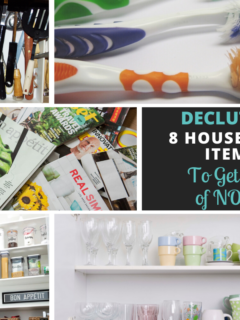 Declutter_ 8 household items to get rid of
