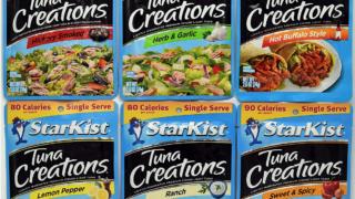 Starkist Tuna Creations Pouches