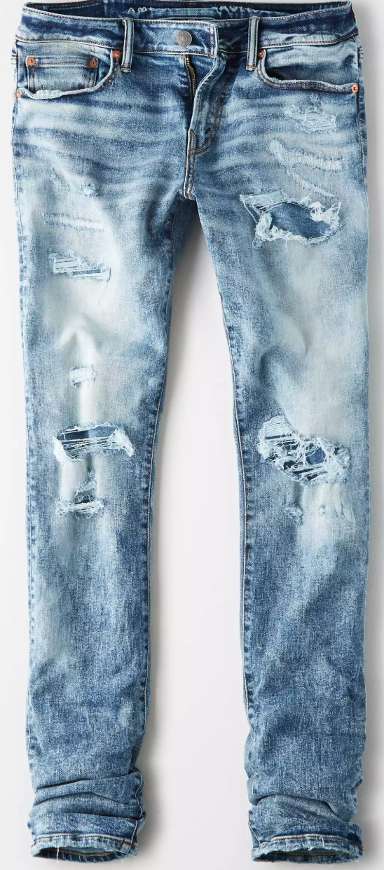 American Eagle Mens Ripped Jeans