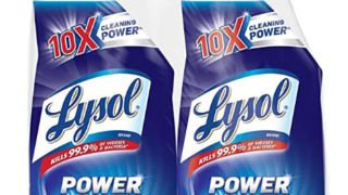 lysol power cleaner