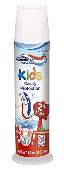 aquafresh kids toothpaste