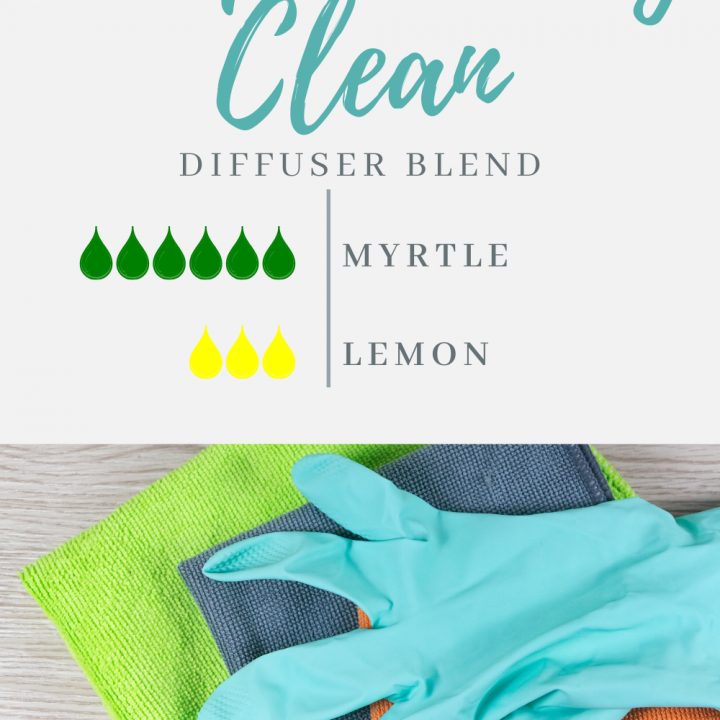 Scrupulously Clean Lemon & Myrtle Diffuser Blend