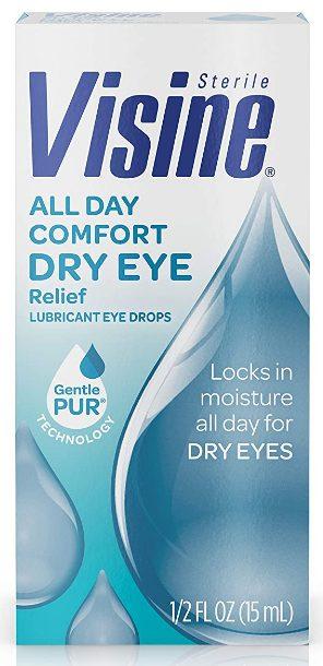 visine eye drops