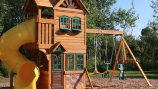 Boulder Station Swing slide Set