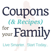 Coupons & Recipes for your family logo