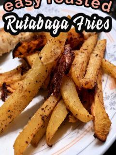 Easy Roasted Rutabaga Fries