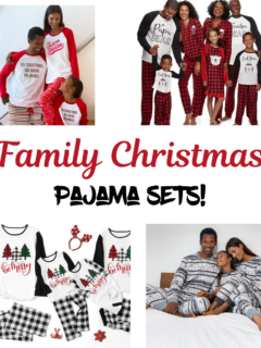 Family Christmas Pajama Sets!