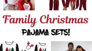 Family Christmas Pajama Sets!