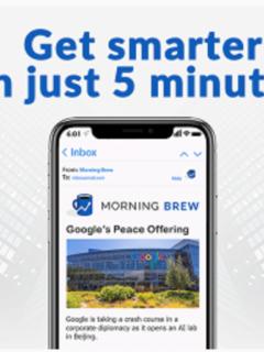 The Morning Brew Newsletter