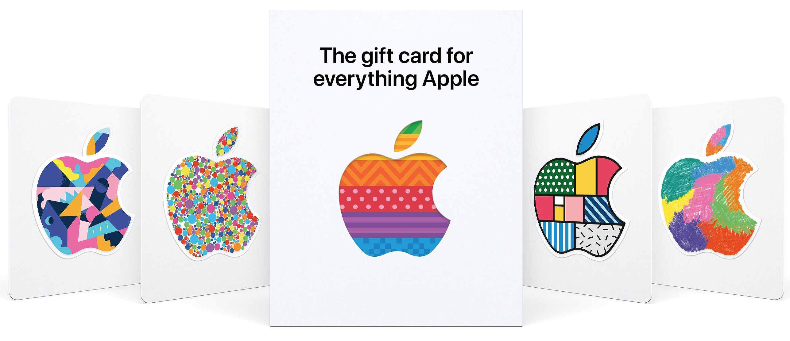 Apple Gift Card for music lovers