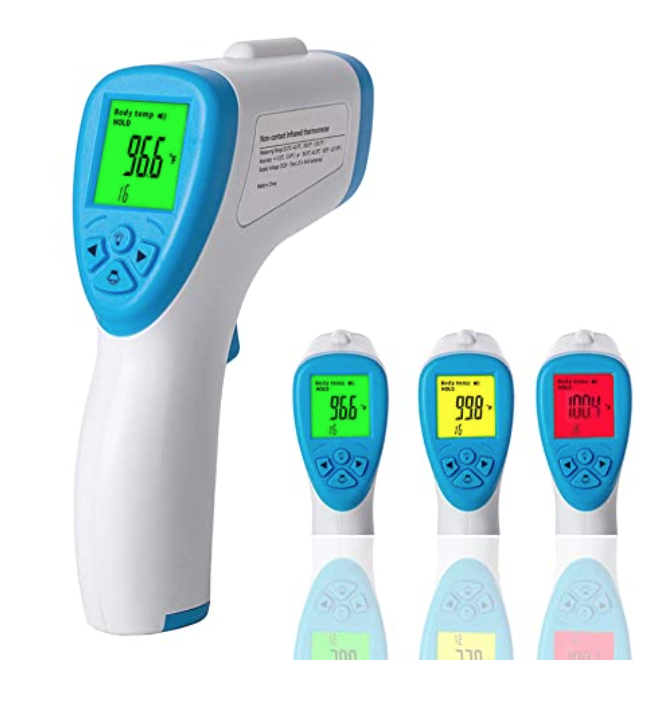 Digital forehead thermometer