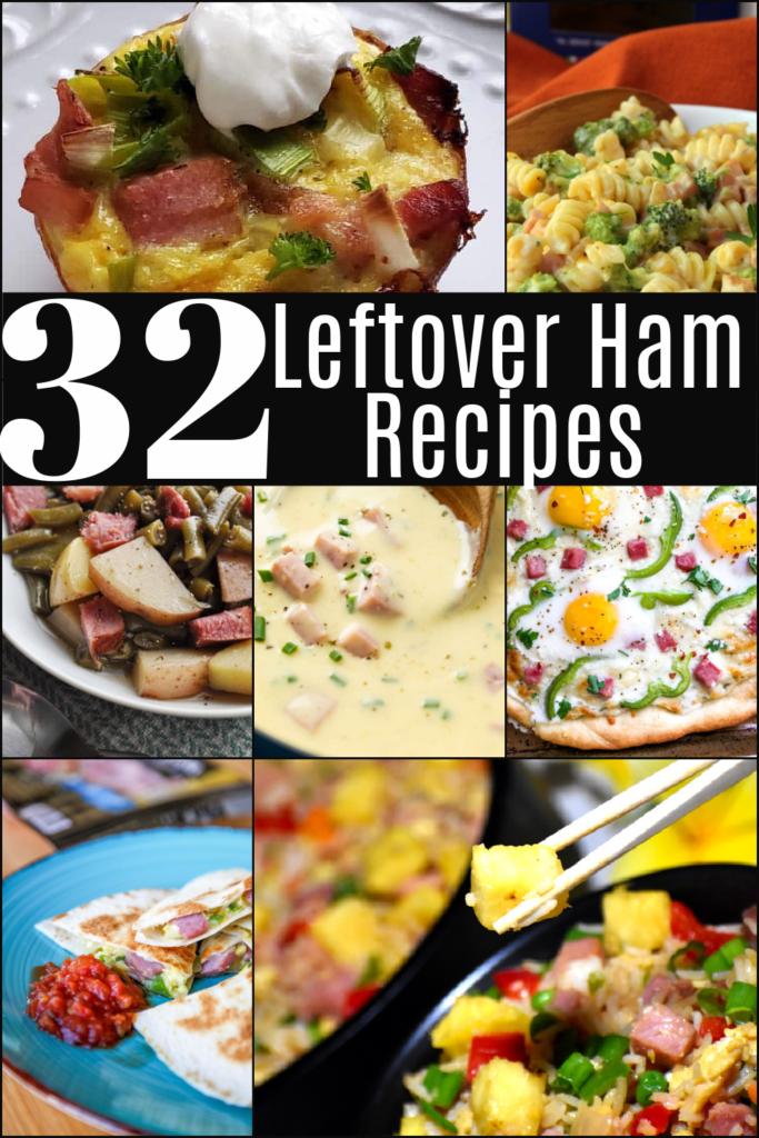 Leftover Ham dinner recipes