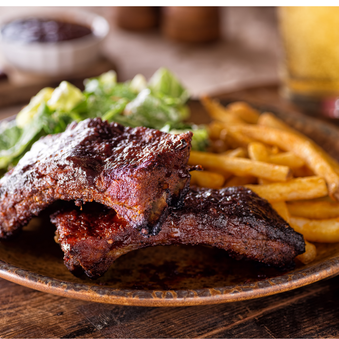 bbq baby back ribs grilled sides