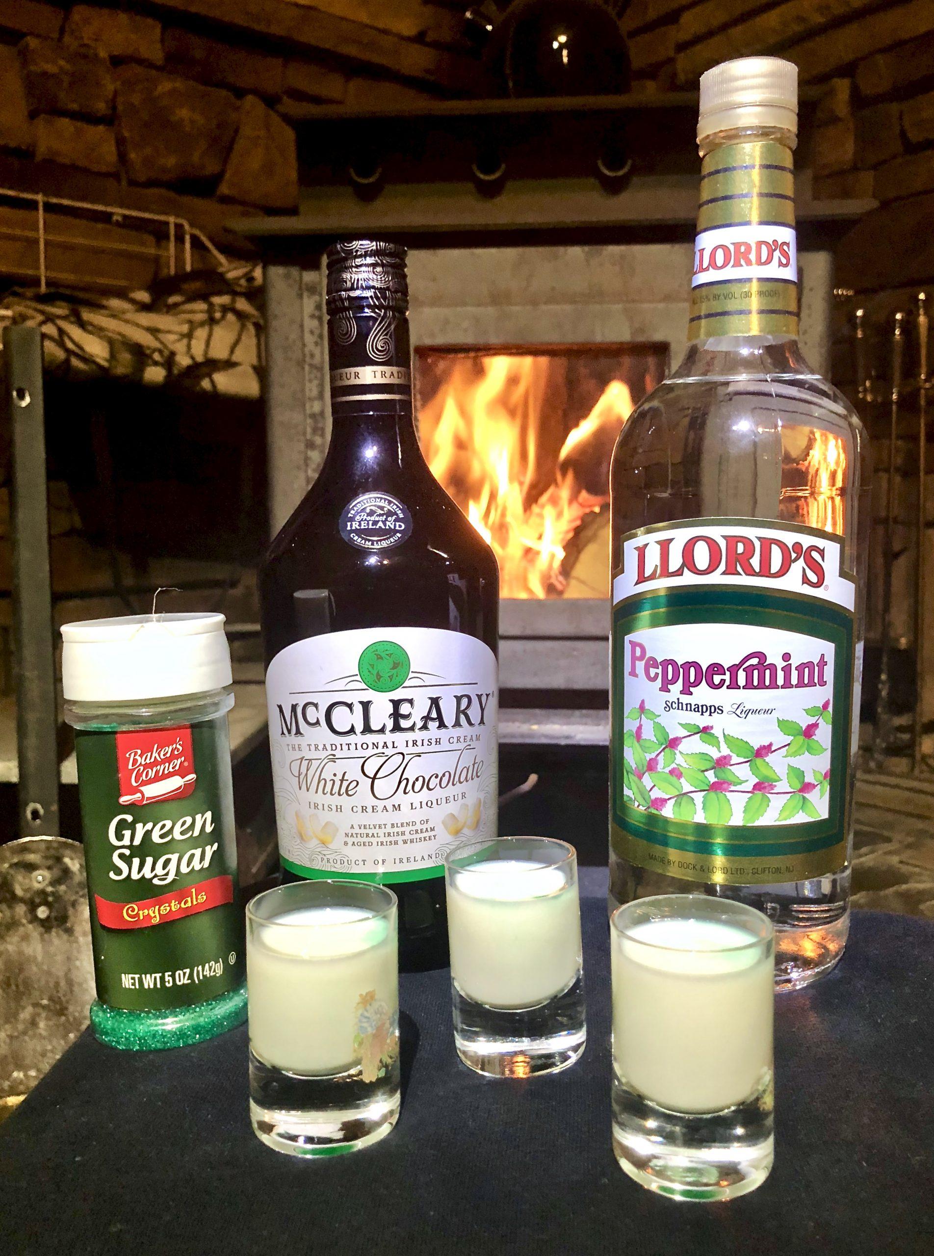 Polar Bear Shot Drink Recipe