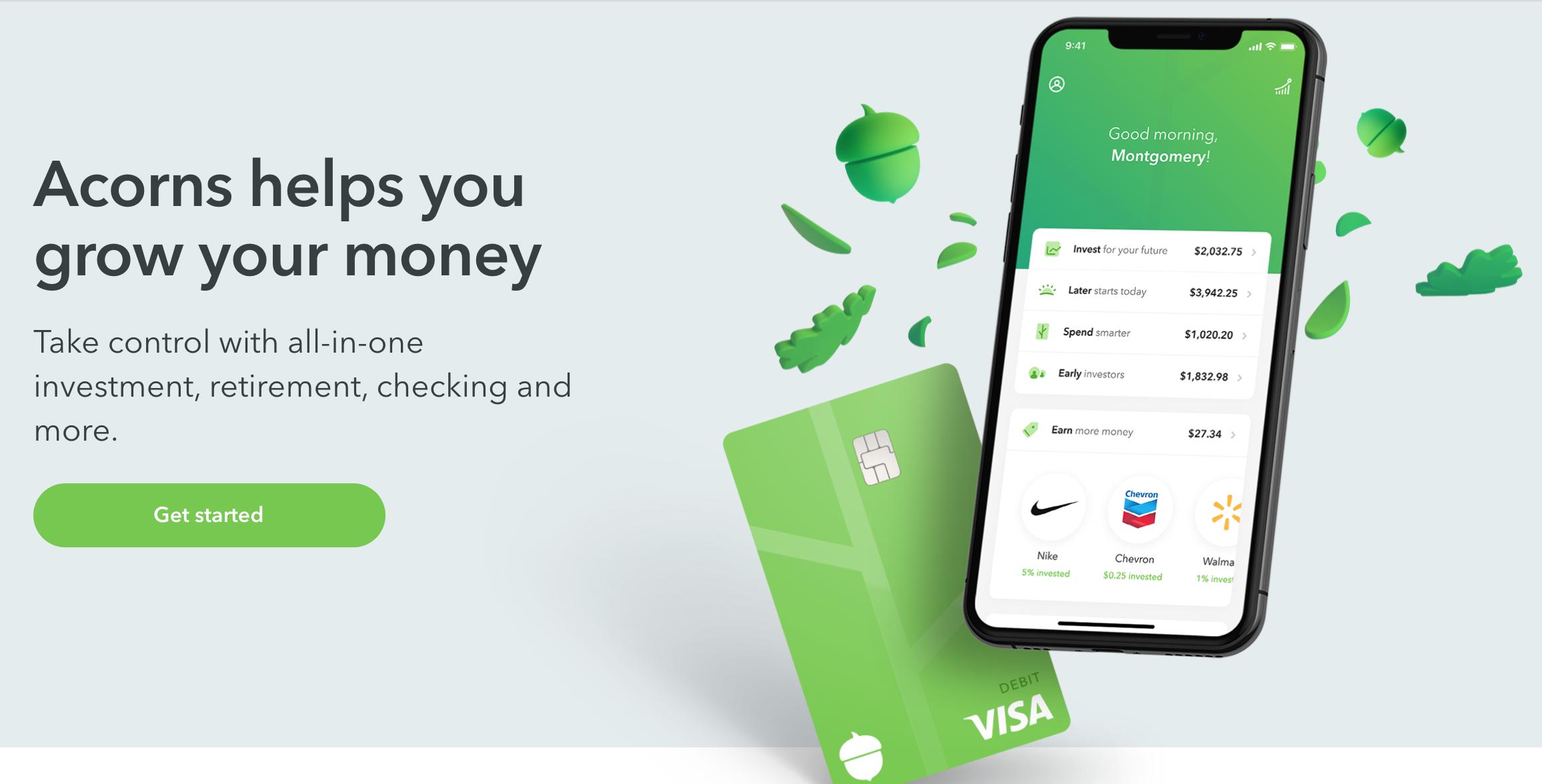 Acorns Investing App